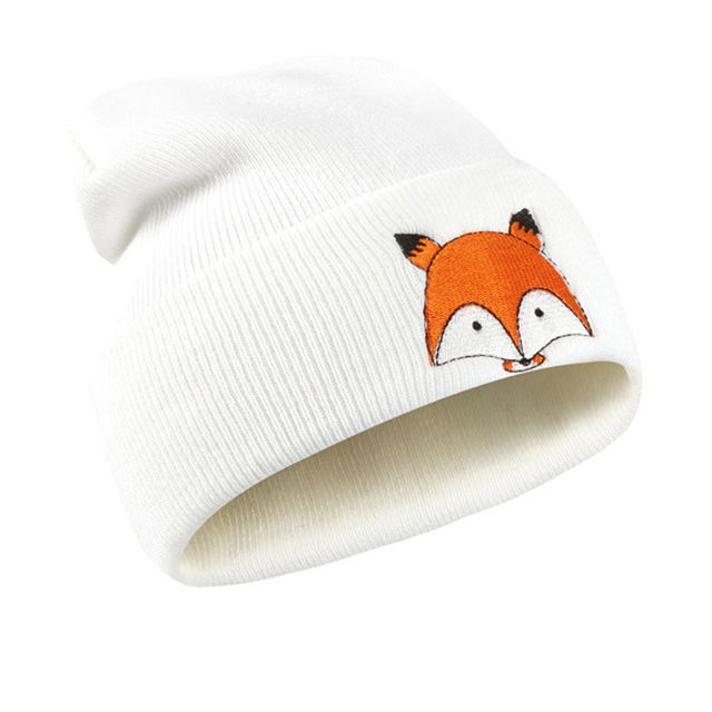 U.P. Embroidered Knit Pom Pom Winter Hats