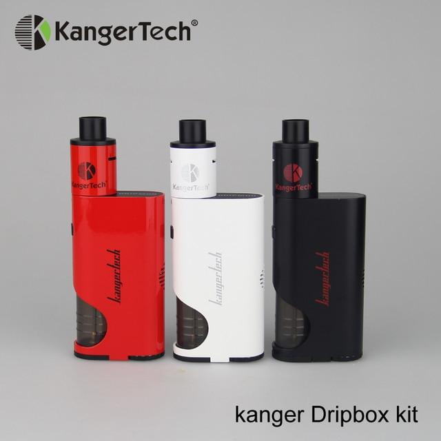 Kangertech Dripbox 60W Starter Kit E cigarette 7ML Subdrip Vaporizer Tank With 0.2ohm Dripping Coil Kanger Dripbox Kit E-cig