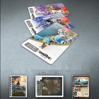 Kids Toys 18PCS Zelda Amiibo NFC Tag Cards Set 20 Heart Wolf Link Fierce Deity Amiibo