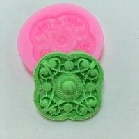 E2016 Silicone Mold Flower Fondant Cake Mould