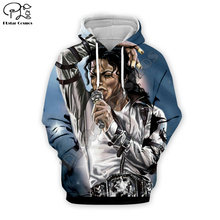 PLstar Cosmos Michael Jackson 3D Printed Hoodie/Sweatshirt/Jacket/shirts Mens Womens hip hop apparel cool tops Free shipping