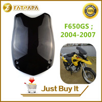 Free Shipping Motorcycle Accessories ABS Windshield Fit For BMW F650GS 2004 2005 2006 2007 Front Windshield High Quality