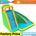 Splashing inflatable water park slide swimming pool toys for kids