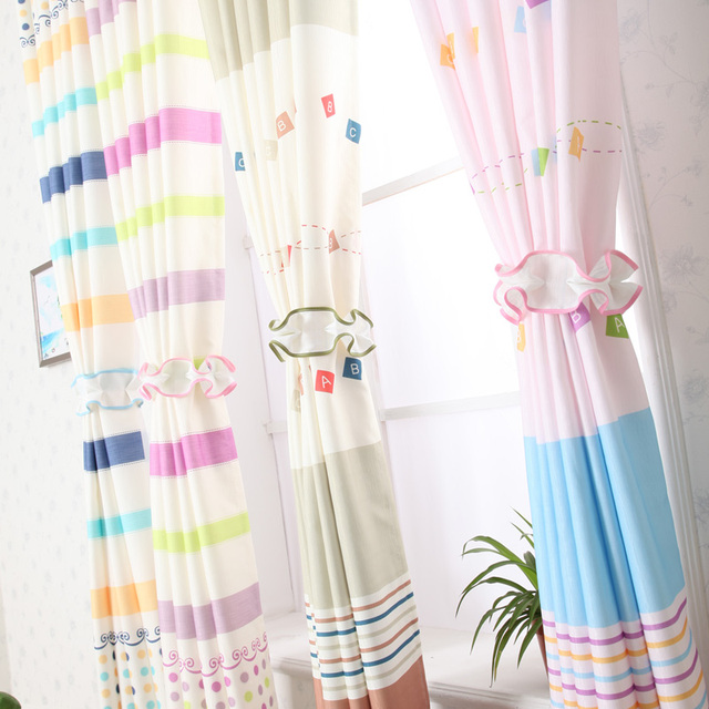 Kids Curtains Pink - Rooms