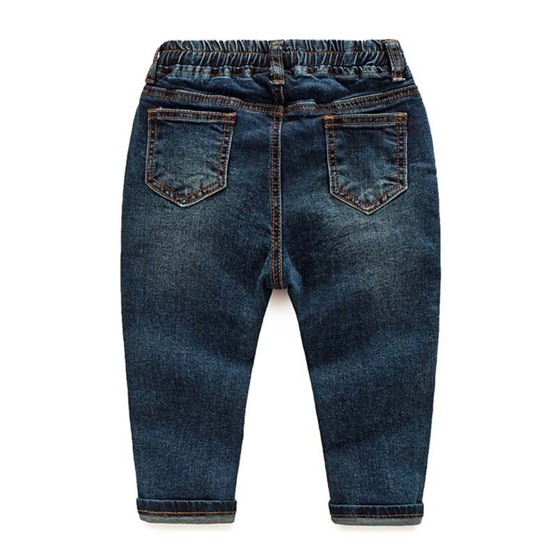 High Quality 24M-6T Baby Boys Jeans Cartoon Embroidered Kids Cowboy Pants Spring Autumn Children\'s Fashion Trousers CMB694 (3)