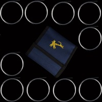 10PCS Fly Fishing Leader With One Leader Wallet 7 5 9FT 0 1 2 3 4