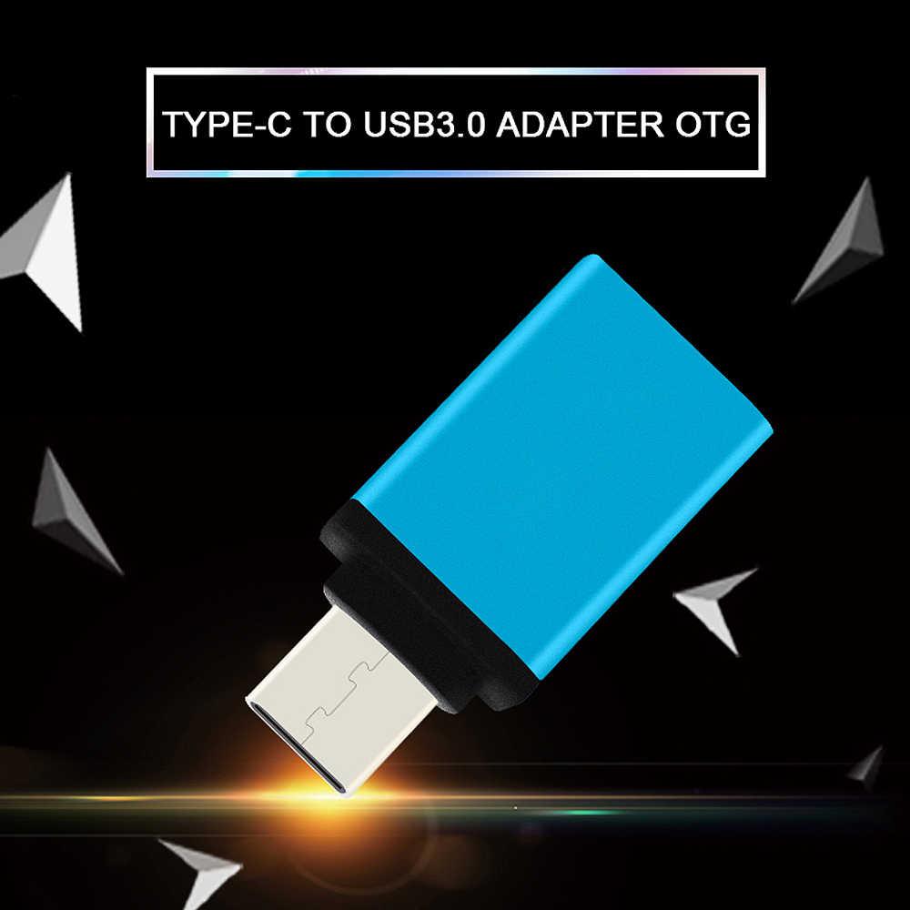 USB نوع C محول البيانات مزامنة المغناطيسي محول لالروبوت سامسونج غالاكسي s8 s9 هواوي HTC LG وتغ USB محول (الصين)