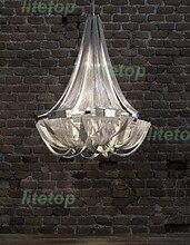 Terzani soscik suspensión ligera de aluminio colgante de luz modernas lámparas de aluminio cadena novedad lámpara chandelier cadena clásico