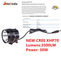 USB Charge 3500Lumens headlamp Flashlight CREE XHP70 bike light Bicycle Light Lamp headlight lampe