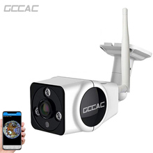 GCCAC WiFi Camera Ourdoor 360 Degree Panoramic HD 1080P Wireless Smart Surveillance Wi Fi IP Camera 2MP IPCam Home Wi-Fi Monitor