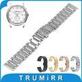 16mm 20mm 22mm quick release strap butterfly fivela pulseira de aço inoxidável watch band para hamilton black rose ouro prata