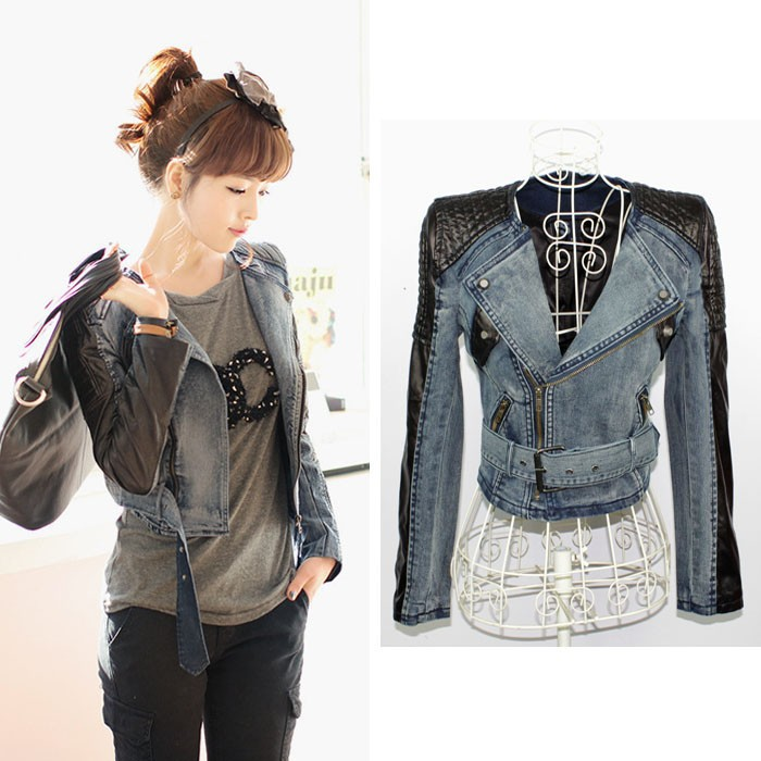Ladies leather jackets uk only