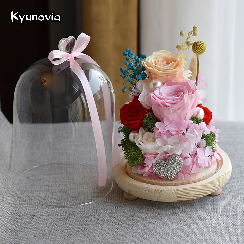 Kyunovia best mother birthday valentines day gift for car home kyunovia best mother birthday valentines day gift for car home decorative beautiful natural dried flowers rose ky63 in artificial dried flowers from home izmirmasajfo