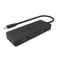 ICZI 8 In 1 Type C Hub Multifunction USB Type C To 4 Ports USB 3
