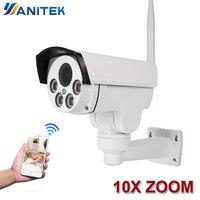 10X Optical Zoom Wifi Street IP Camera PTZ Bullet Outdoor 5X 2MP 1080p Wireless IR Night Onvif SD Card Audio CCTV IP Cam ONVIF