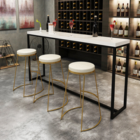 45 cm / 65 cm / 75 cm Nordic bar stool bar chair creative coffee chair gold high stool simple dining chair wrought iron