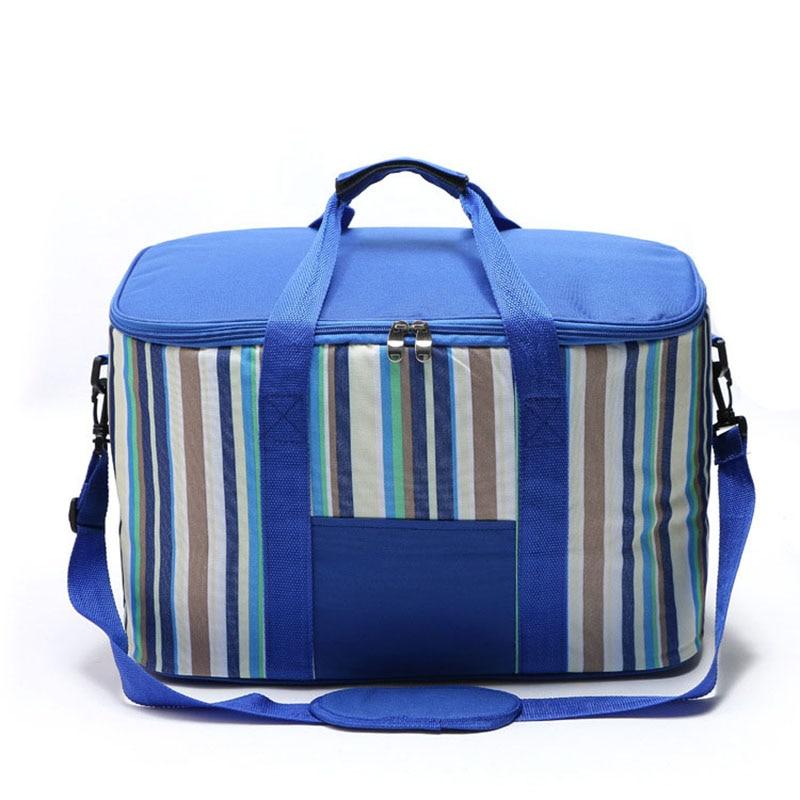 Large Capacity  Cooler Bag Lunch Bag For Food Fruit Seafood Steak Insulation Thermal Bag Men Women Kid Handbags Crossbody Bags