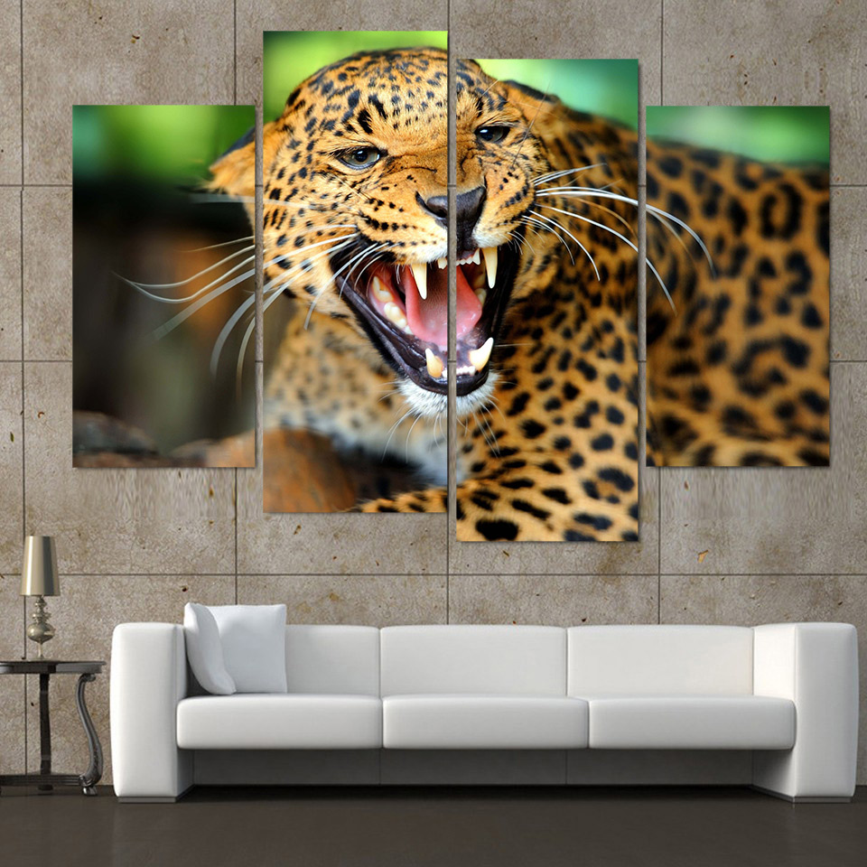 high quality leopard print wall art buy cheap leopard print wall