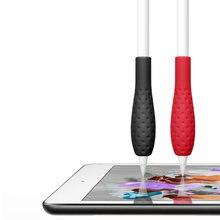 Мягкий силиконовый чехол для apple pencil 1 го 2 поколения защитный