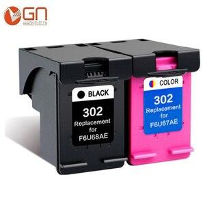 GN 302XL Восстановленный картридж для принтера HP 302 302 XL для принтера Deskjet 1110 1111 1112 2130 2131