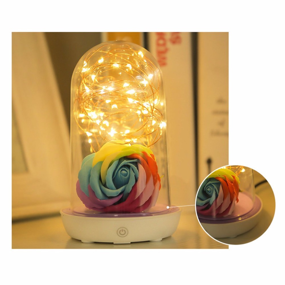 Cute Colorful Devil Shape LED USB Charging Children Night Light Silicone Infant Baby Lamp Home Bedroom Light