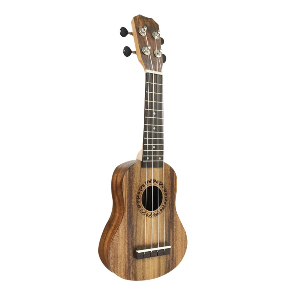 17 Inch Acacia Wood Ukulele Mini Hawaiian Guitar 4 Strings Guitarra Ukulele Handcraft Wood Musical Instrument New soprano concert tenor ukulele 21 23 26 inch hawaiian mini guitar 4 strings ukelele guitarra handcraft wood mahogany musical uke