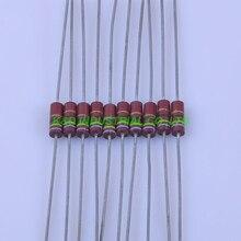 10pcs Carbon Composition vintage Resistor 0.5W 75R 0.33ohm 5 % цена 2017