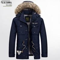 Newest 2016 Men S Winter Jackets And Coats Wool Coat Long Warm Brand Design Detachable Cap