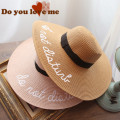 Wearzone 2017 Women Wide Brim Straw Hats Summer  Men Beach Sun hat chapeau