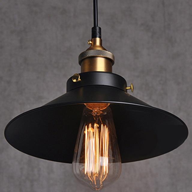 iron pendant lights vintage lamp dining room industrial lighting fixtures retro light fittings antique designer fashion