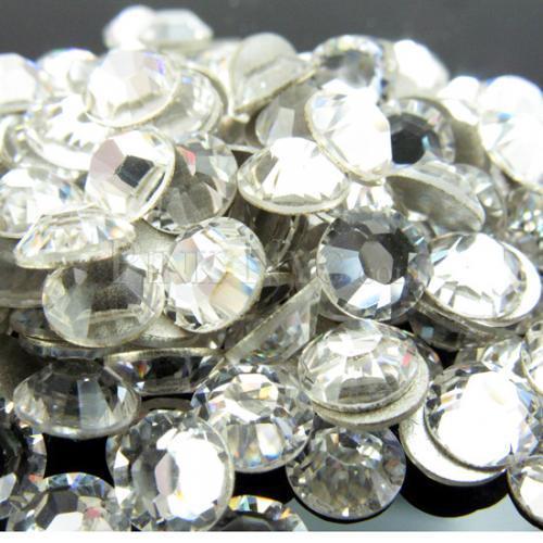 10 MM Cristal SS45 Clear Color 144 unids Grandes Piedras Del Flatback (No Hotfix) 45ss Rhinestones Hotfix Rhinestones no