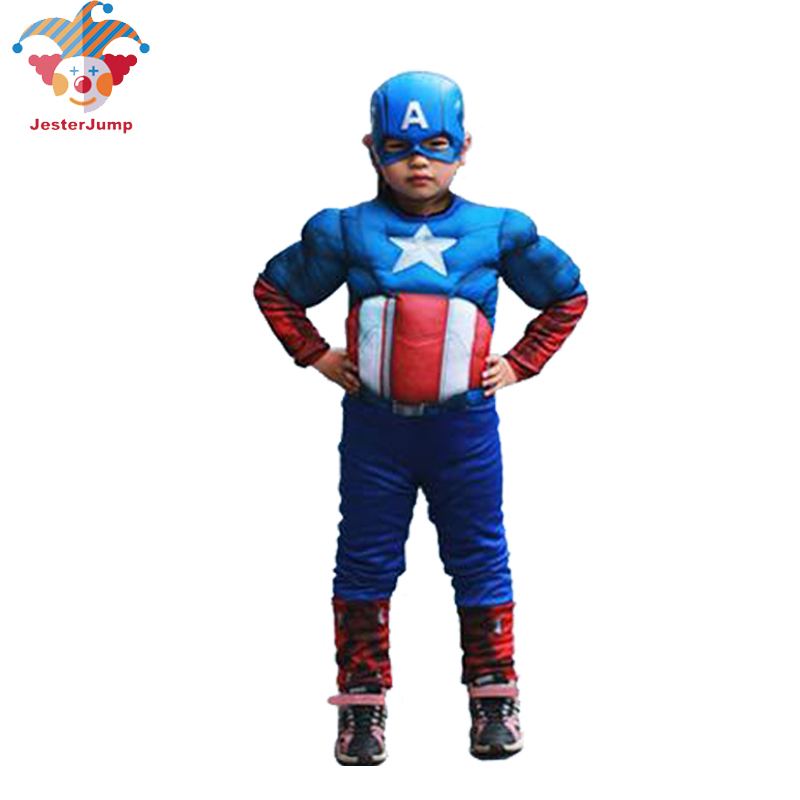 Captain America Costume for Kids Superhero Halloween Cosplay Purim Party Girl On Captain America Boys Captain America Movie Suit-in Boys Costumes from ...  sc 1 st  AliExpress.com & Captain America Costume for Kids Superhero Halloween Cosplay Purim ...