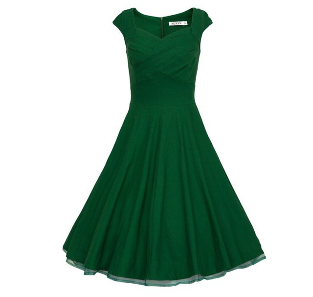 Aliexpress Buy Women Dress Audrey Hepburn1950s 40s 60s 80s