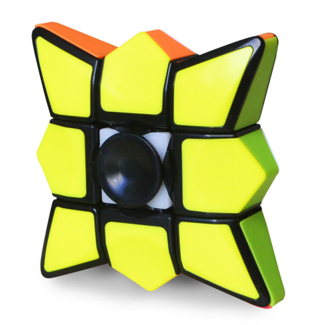 Fingertips gyro Best-seller Magic Cubes single-order shaped rotating smooth puzzle fun children's entertainment toys sale