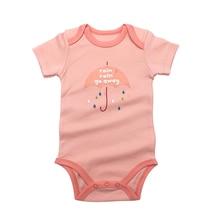 Baby Bodysuit Newborn Babies Boys Girls Body Random 1 Pack 3 6 9 12 18 24 Months Infant Short Sleeve Bodysuits