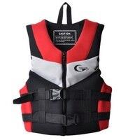 Adults Neoprene Surfing Drifting Motorboat Fishing Life Vest Buoyancy Life Vest Floating Clothing Swim PFD Drifting