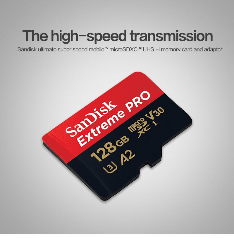 Tarjeta de memoria SanDisk Extreme Pro 3