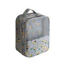 Купить с кэшбэком Double Layer Shoe Organizer Travel Bags Women Portable Mesh Organizer Pouch Drop Shipping