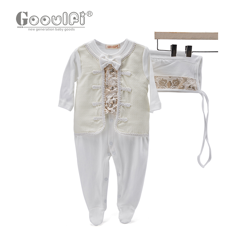 Gooulfi Baby Clothing 0-3 Months Newborn Infant Babygrow Romper Cotton Jumpsuit New Baby Rompers Children Autumn Clothing Set newborn baby rompers baby clothing 100% cotton infant jumpsuit ropa bebe long sleeve girl boys rompers costumes baby romper