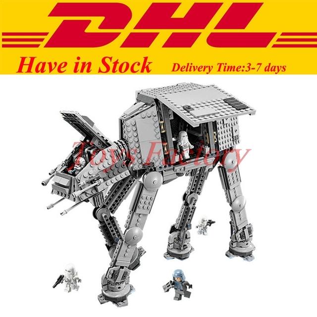 2017 LEPIN 05051 1157 Unids Star Wars The Force Despierta AT-AT Modelo Kit de Construcción Establece Juguetes de Bloques de Ladrillos Compatibles 75054
