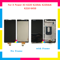 5pcs Lot LCD Display Screen With Touch Screen Digitizer Assembly For LG X Power X3 K220ds