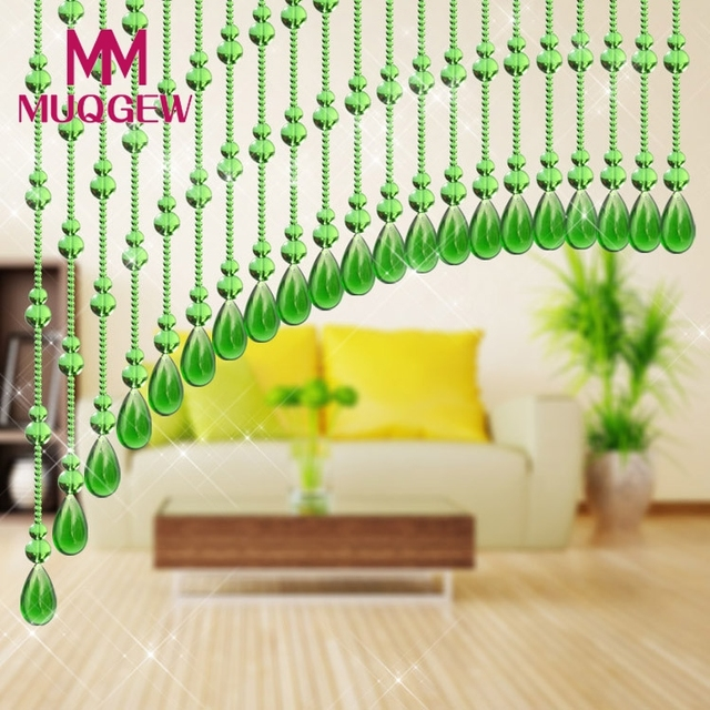 Glass gourd shaped beads string tassel curtain wedding divider panel glass gourd shaped beads string tassel curtain wedding divider panel room decor diy home decoration junglespirit Images