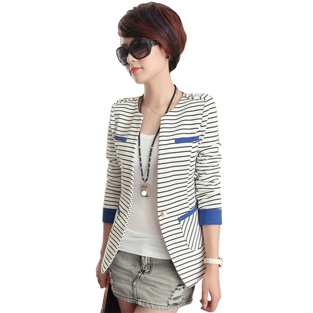 Popular Womens Striped Blazer-Buy Cheap Womens Striped Blazer lots ...
