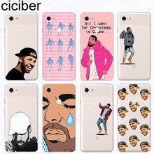 ciciber Aubrey Drake Graham Phone Cases Funda for Google Pixel 3 2 XL Fashion Case Silicone TPU Cover 3XL 2XL Coque