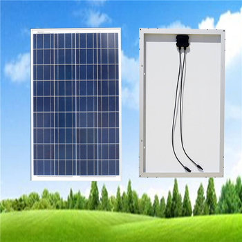 Polycrystalline Solar Panel 100W 18V Battery off Grid System Solar for Home System EU USA Stock