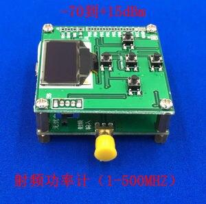 Image 2 - OLED ekran RF güç ölçer 1 MHZ 8000 MHZ ayarlayabilirsiniz RF güç zayıflama değeri dijital metre + Yazılımı /10 W 30DB Zayıflatıcı