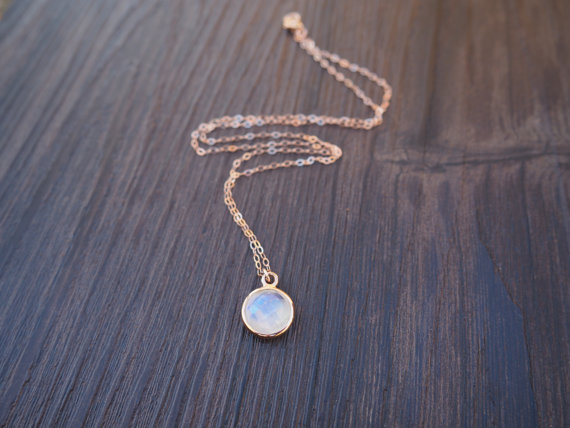 Buy gold moonstone pendant and get free shipping on aliexpress mozeypictures Images