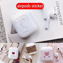 for apple iphone original airpods headphone skins sticker cartoon Protective cov