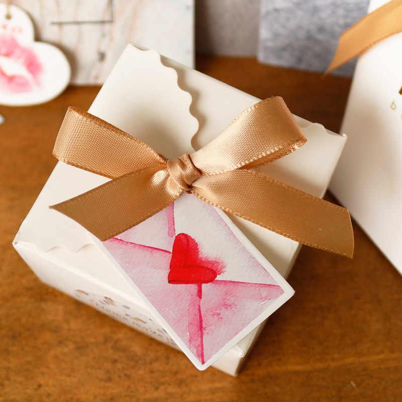 50 Uds. Etiquetas de regalo de flores, etiquetas de papel de decoración de bodas para fiestas, tarjetas de papel de piña con flamenco, etiquetas DIY, etiquetas colgantes hechas a mano para prendas de vestir