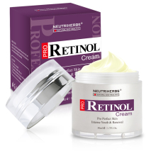 Neutriherbs Retinol Moisturizer Cream Vitamin A Vitamin E Collagen Cream for Face Facial Care 50g